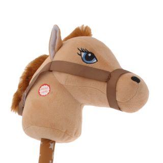 Jouet-plus Bâton de cheval en peluche, 68cm