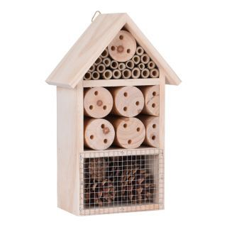 Wooden Insect Hotel, 25cm
