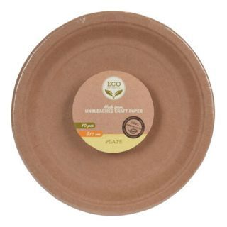 Degradable Cardboard Plates 17cm, 10pcs.