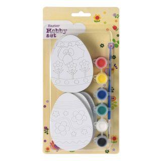 Painter set Egg with Ribbon, 3pcs.