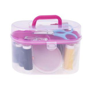 Sewing box with Sewing Tools, 50 pcs.