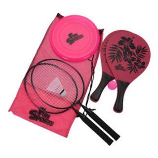 Outdoor play set Sport Pink