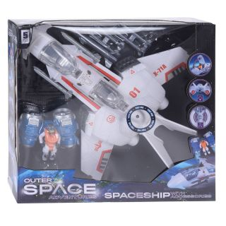 Playset Spaceship with Light and Sound