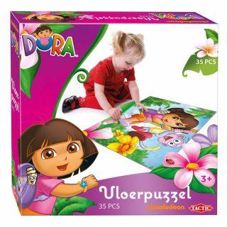 Dora floor puzzle