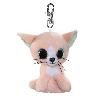 Lumo Stars Keychain - Cat Peach