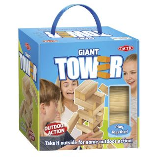 Wood XL stacking tower