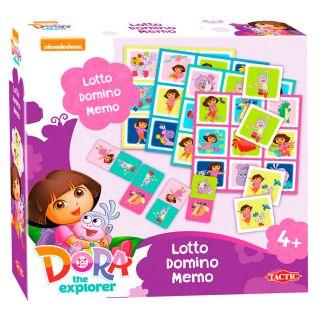 Dora Lotto, Domino, Memo - 3in1