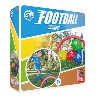 Football Croquet Set