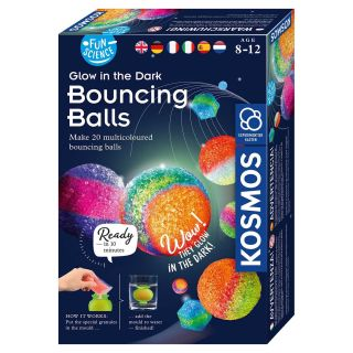 Glow in the Dark Making Bouncing Balls, 20st.