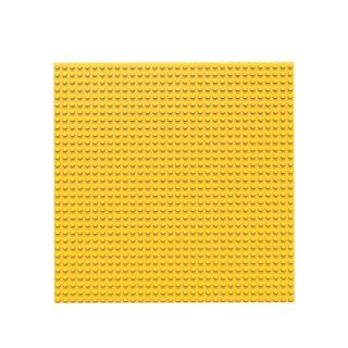 BiOBUDDi Baseplate Yellow, 32x32
