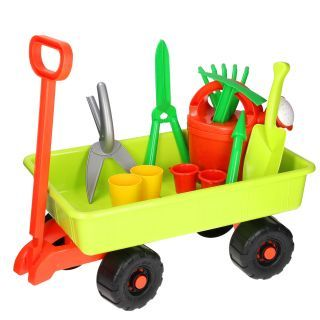 Jouet-Plus Chariot jardinage garni, modèle aléatoire 6970