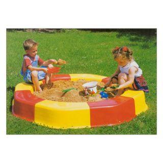 Jouet-Plus Anneau de bac à sable Summer Fun avec couvercle