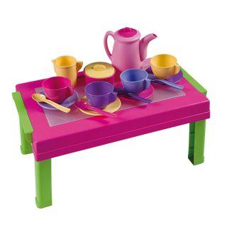 Jouet-Plus Jeu de dinette table et vaisselle