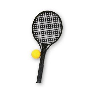 Jouet-Plus Raquette de tennis junior noir avec balle
