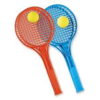 Jouet-Plus Raquette de tennis Junior couleur avec Balle