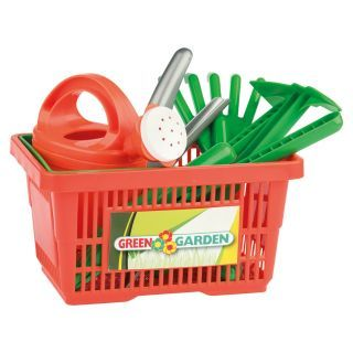 Jouet-Plus Panier outils de jardinage