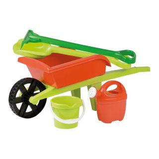 Jouet-Plus Brouette avec outils de jardinage, modèle aléatoire 6302-0000