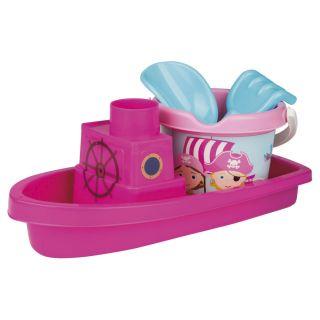 Jouet Plus Bateau de plage Pirate rose