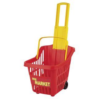 Jouet-Plus Panier à roulettes supermarché pour enfants