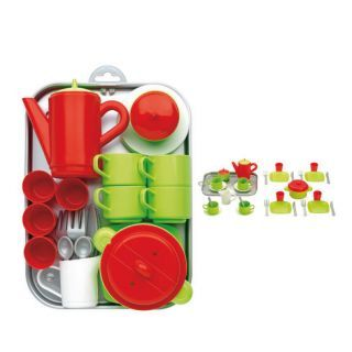 Ecoiffier 100% Chef tea and Dinerset