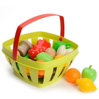 Ecoiffier 100% Fruit and vegetables in Chef Basket