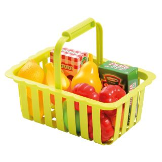 Ecoiffier 100% Chef basket with accessories