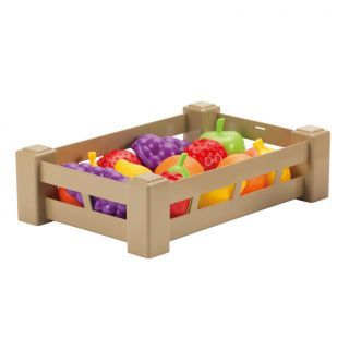 Ecoiffier 100% Chef Fruit or Vegetables in Crate
