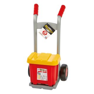 Ecoiffier Mecanics Sack truck with tool box