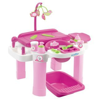 Ecoiffier Care - Changing table with accessories