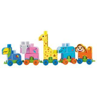 Abrick Coffret Train du Zoo, 42 pcs