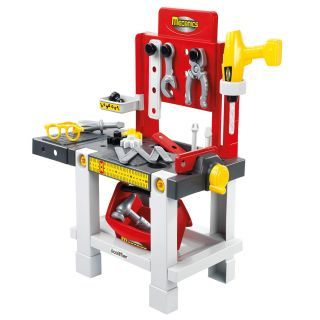 Ecoiffier Workbench with Tools