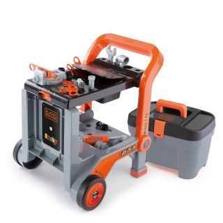 Smoby Black & Decker Workbench with Toolbox