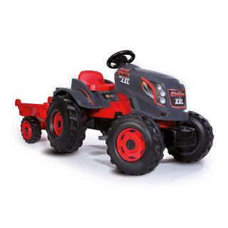 Smoby Stronger XXL Tractor with Trailer