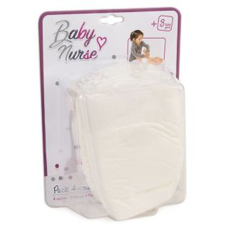Smoby Baby Nurse Diapers, 4pcs.