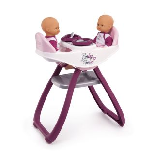 Smoby Baby Nurse Baby Chair for 2 Dolls
