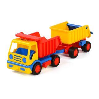Polesie Basics Dump Truck with trailer