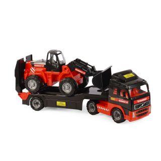 Polesie Mammoet Truck with Trailer and Excavator