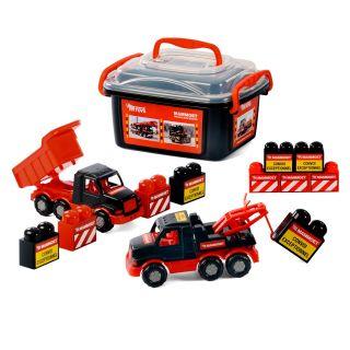 Polesie Mammoet Mini Truck with bricks