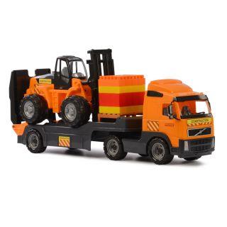 Polesie Volvo Truck with Forklift