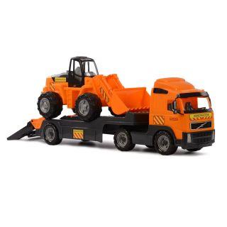 Polesie Volvo Truck with Excavator