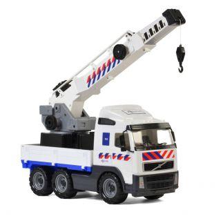 Polesie Volvo Police Crane truck