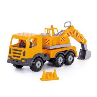 Polesie Truck with Excavator
