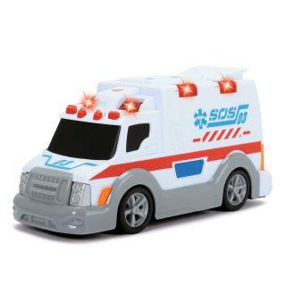 Dickie Ambulance SOS03 avec son et lumière