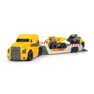 Dickie Volvo Micro Transporter with Work Vehicles