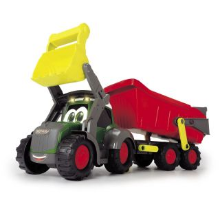 Happy Tractor with Trailer