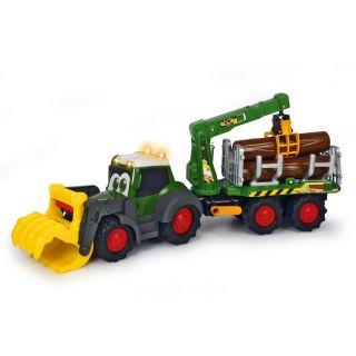 Happy Fendt Tractor with Bomentransport