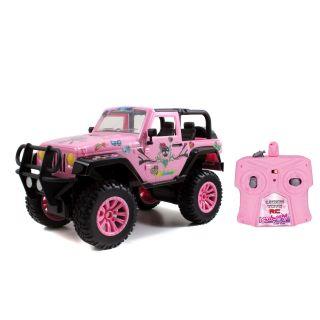 RC Jeep Wrangler Pink
