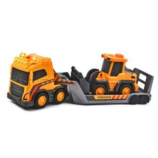 Volvo Truck Team with Excavator