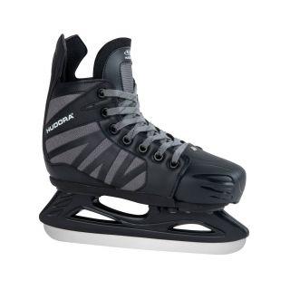Hudora Power Play Ice Hockey Skates Black, Size 32-35
