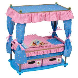 Dolls Canopy bed 'Lola'